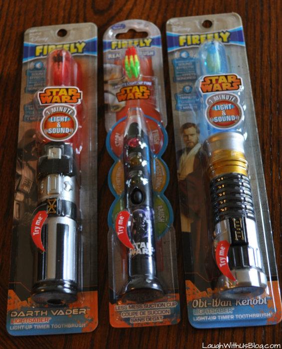 Firefly Star Wars Toothbrushes #BrushBattle #ad