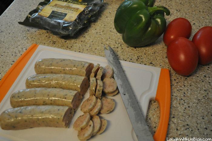 Al Fresco Chicken Sausage recipe #ad