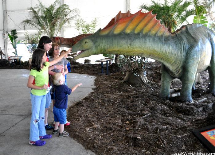 Dinos Alive Moody Gardens #ad