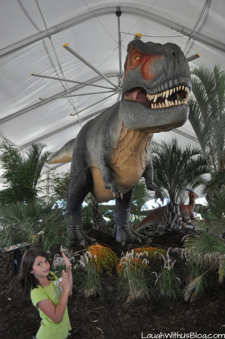 Dinos Alive at Moody Gardens #ad