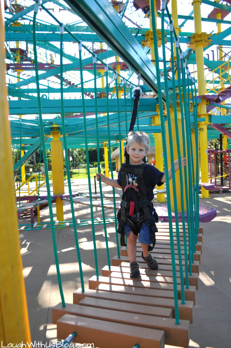 Moody Gardens Sky Tykes Ropes Course #ad