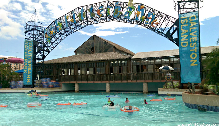 Schlitterbahn Galveston Wave Pool #ad #bahnlove