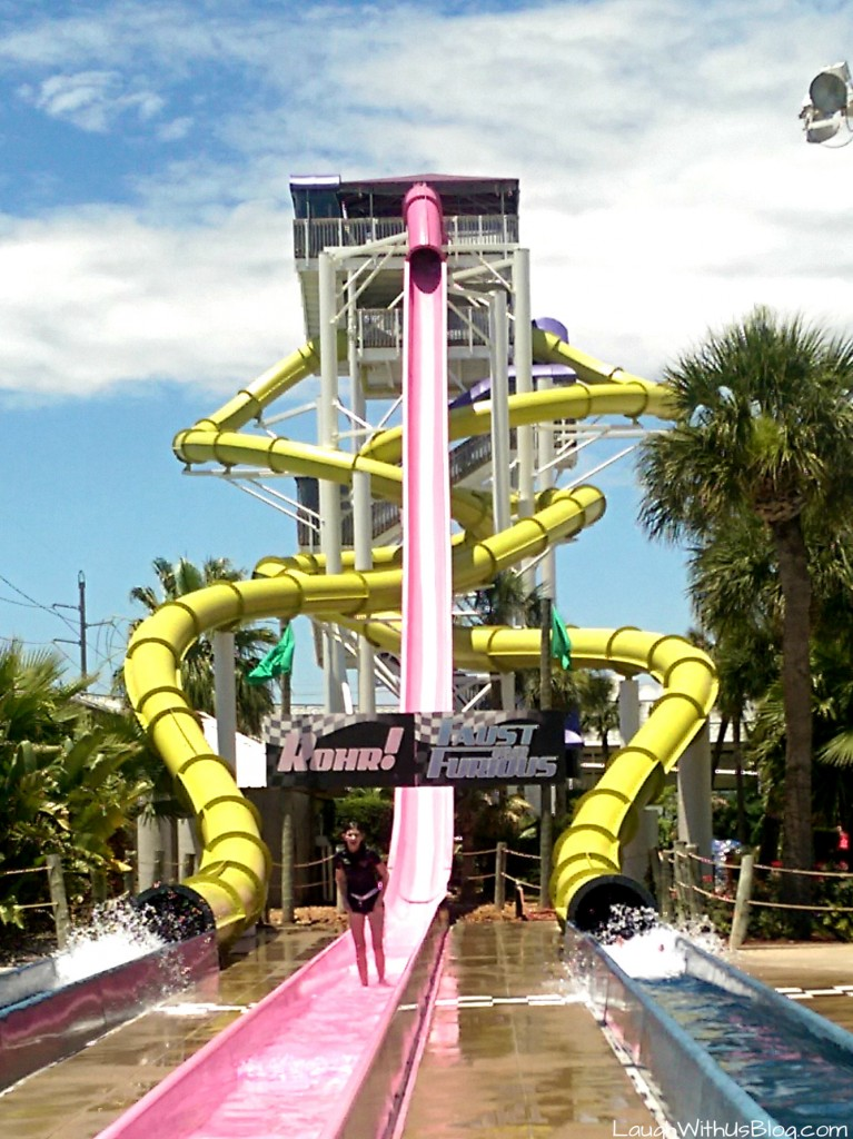 Water Slide Fun Schlitterbahn Galveston #ad #bahnlove