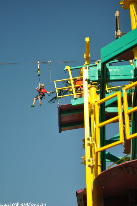 dinos zip lines and ropes course at moody gardens laugh with us blog