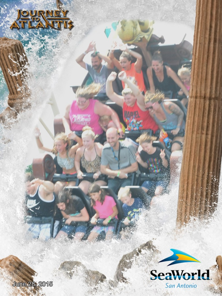 Journey to Atlantis SeaWorld Texas #adventurecon15 #Wildside15