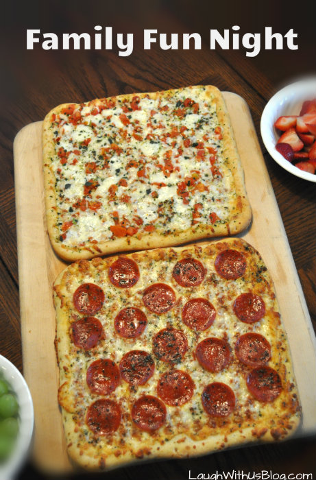 Family Fun Digiorno Pizzaria Thin #YouBeTheJudge #DIGIORNO #CleverGirls #ad
