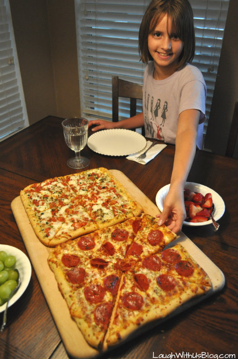 Pizza for Famiily Fun Night #YouBeTheJudge #DIGIORNO #CleverGirls #ad