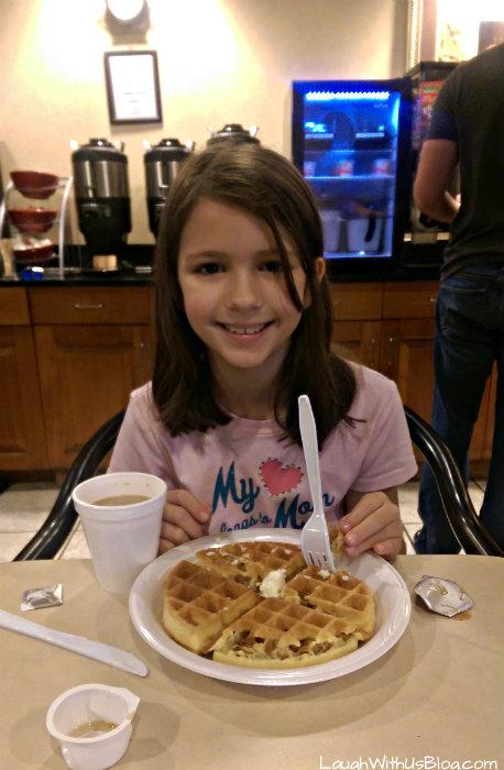 Breakfast at Wingate Wyndham hotel