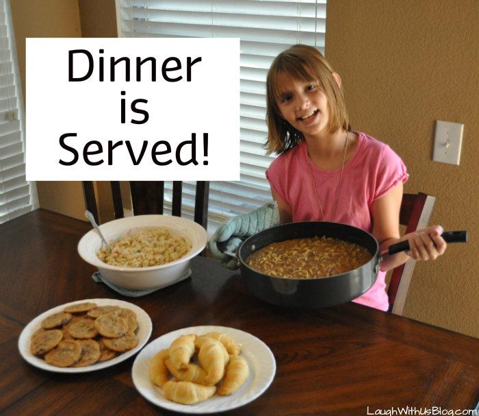 Dinner is served #BTFE #ad