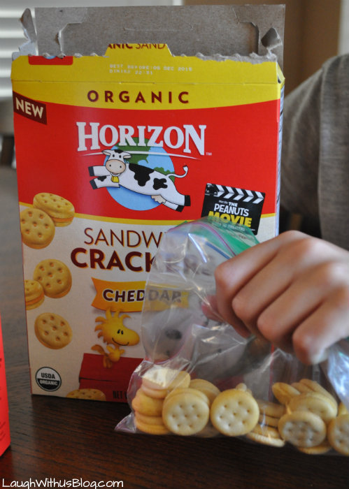 Horizon Snacks for School lunches #sponsored