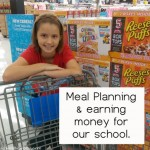 Meal Planning and Earning Money for our School
