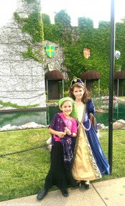 Medieval Times for her birthday