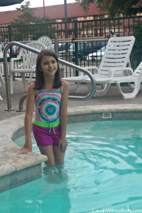 Pool at Wingate Wyndham hotel Iriving