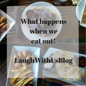 What happens when we eat out…