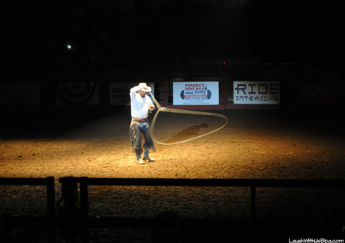 Roping Tricks Fort Worth Stockyards Rodeo #hosted