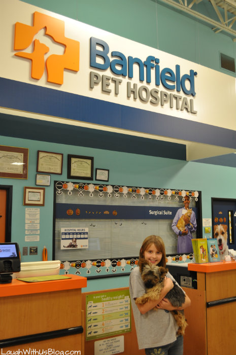Banfield Pet Hospital #BanHeartworms #ad