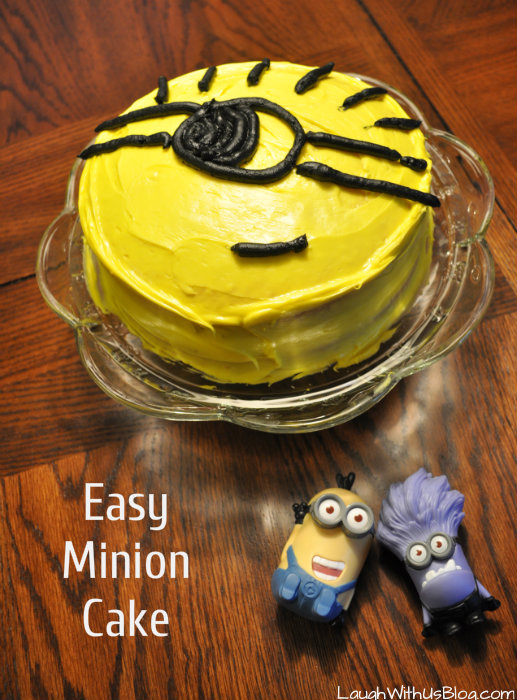 Easy Minion Cake Images : Little Jason is 7 years old! - Laugh With Us Blog