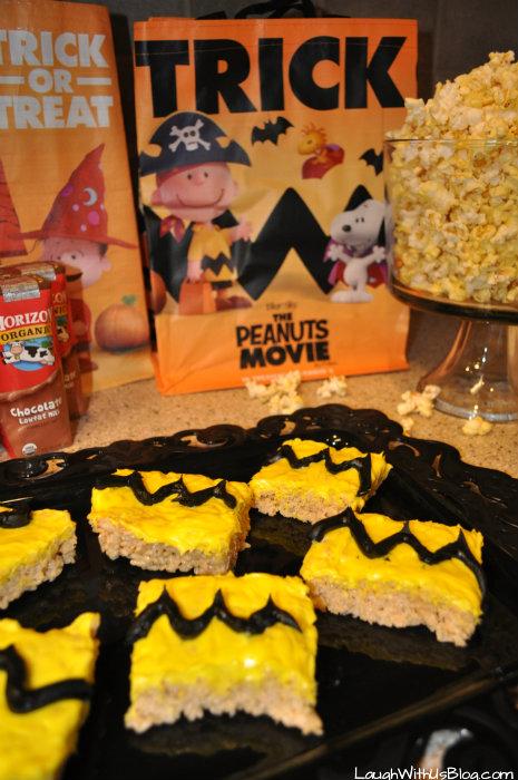 The Peanuts Movie Snacks #ad