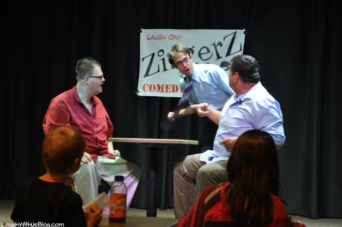 ZingerZ Comedy Club in DFW Family Laughs