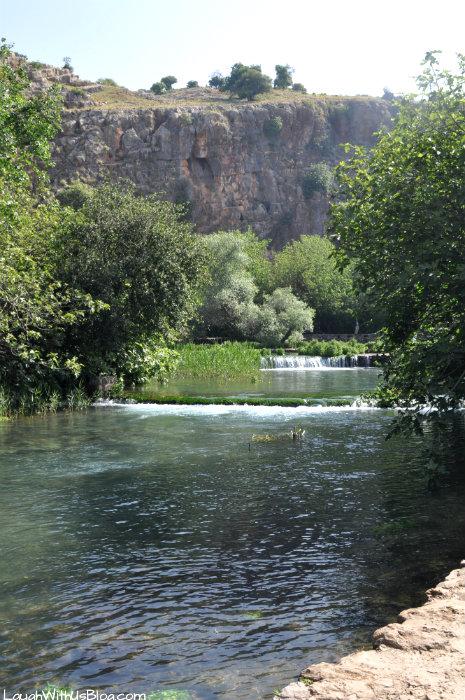 Banias water falls #IsraelTravel