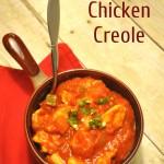 Easy Chicken Creole Recipe