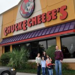 A Chuck E Cheese Birthday Party