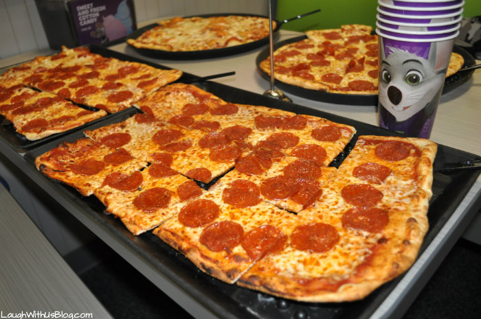 Chuck E Cheese New Recipe Pizza!
