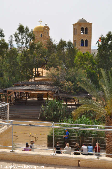 Jordan River Mosques on the other side