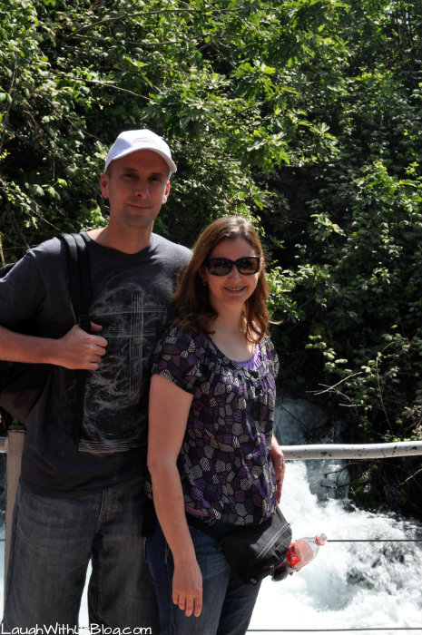 LaughWithUsBlog at Banias Nature Preserve Israel