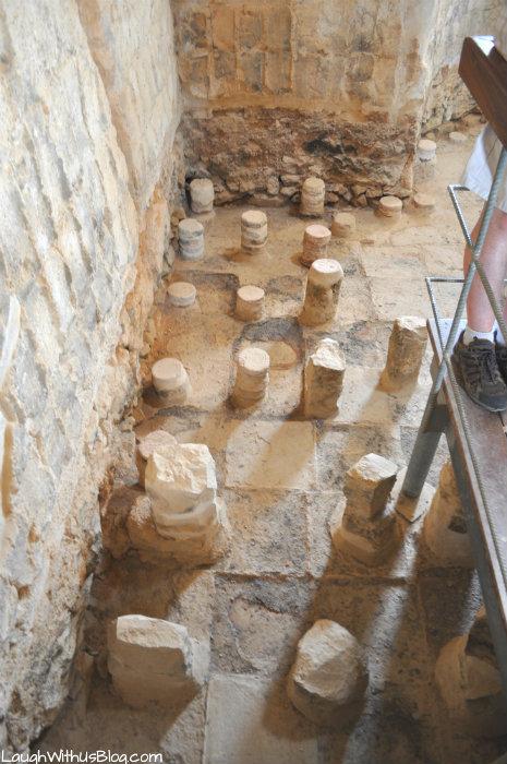 Masada Bath house