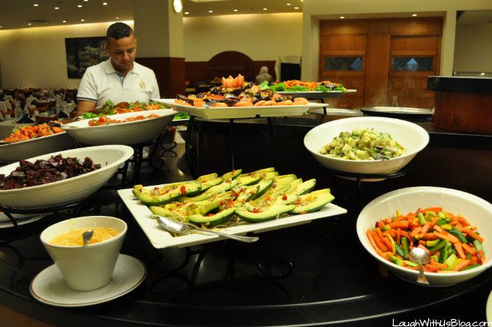 Ramada Hotel Jerusalem Salad Bar