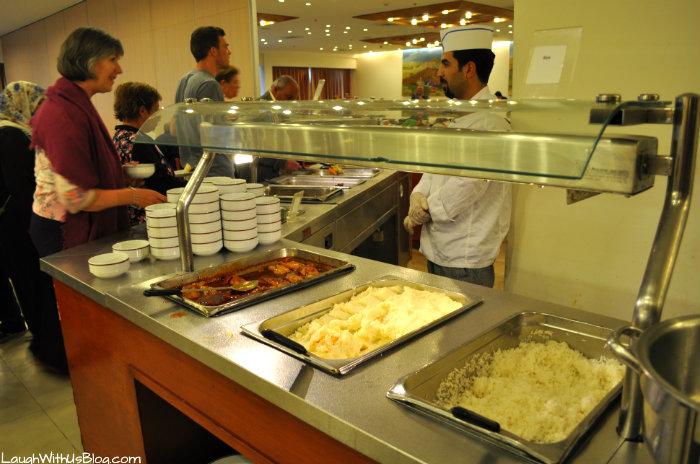 Ramada Hotel Jerusalem buffet