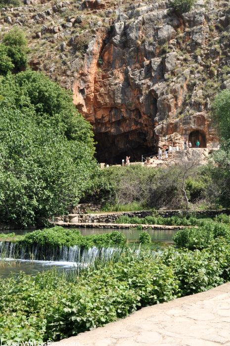 Temple of Pan in Banias Israel