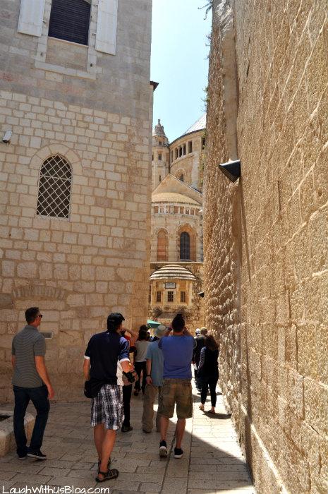 Old Jerusalem first glimpse of the city