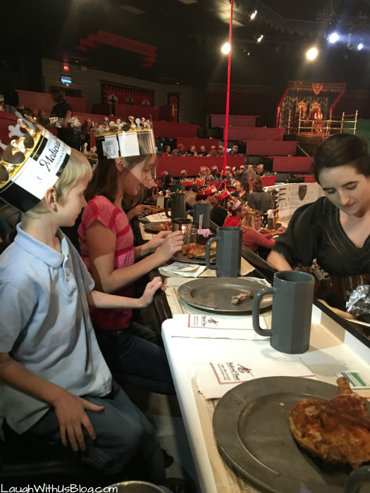 Medieval Times Meal