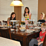 New Years Day Family Fondue Party