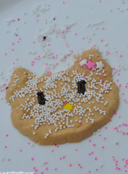 Edible Putty Kitty Shape