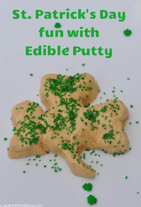 St Patrick's Day fun for kids with edible putty