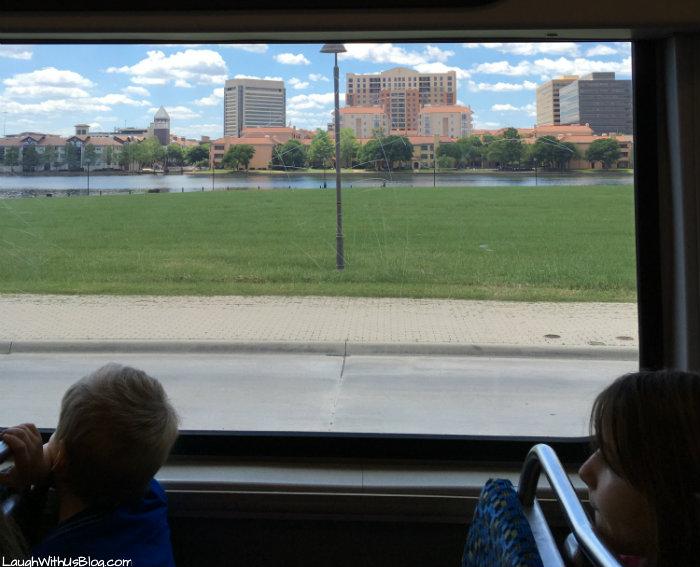 Seeing DFW by DART train