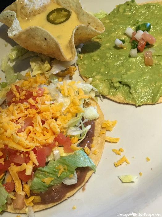 Tostada Plate Avila's Restaurant Dallas