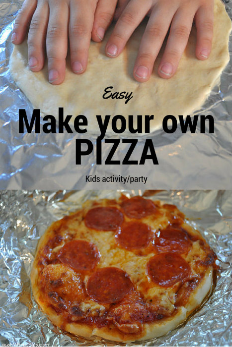 In our home, dinner guests come in all sizes. Make Your Own Pizza Night is great for kids, but adults love it, too! Using ready made whole wheat naan for the crust makes it easy and allows everyone to build their own, pleasing even the pickiest eaters.