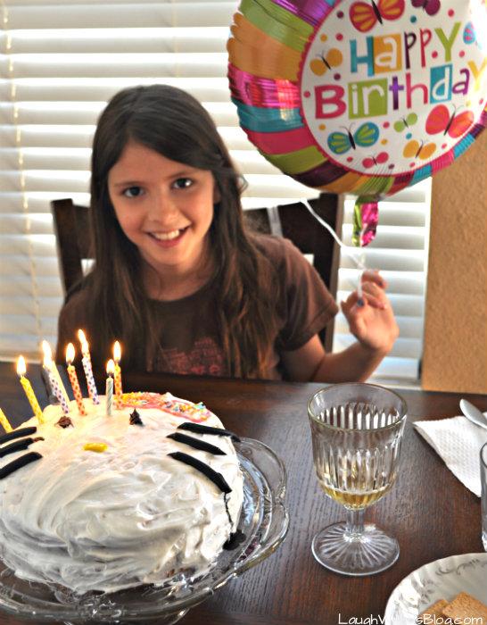 Grace 10 birthday