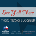Homeschool? Join us at THSC The Woodlands! Blogger Perks: