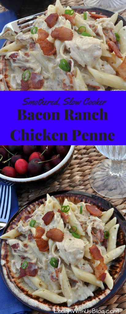 Smothered Bacon Ranch Chicken Penne