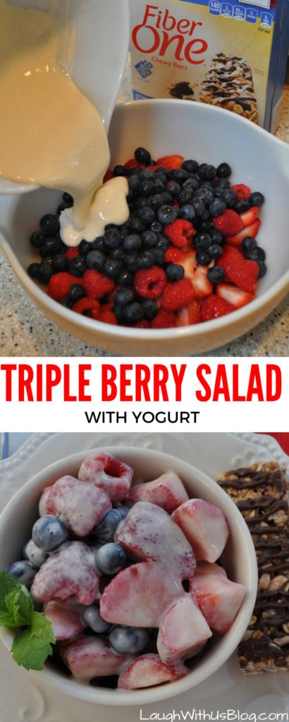 Triple Berry Salad