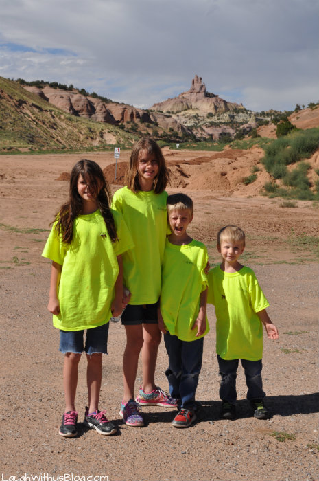 Church Rock Hike with Kids