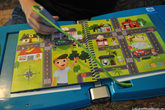 Fun learning with LeapStart #LeapFrogMomSquad #ad