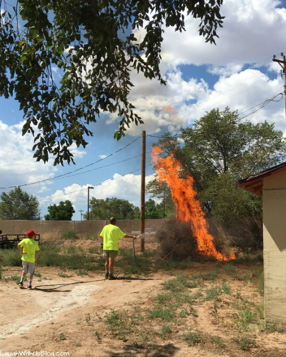 Navajo Reservation VBS Work Project