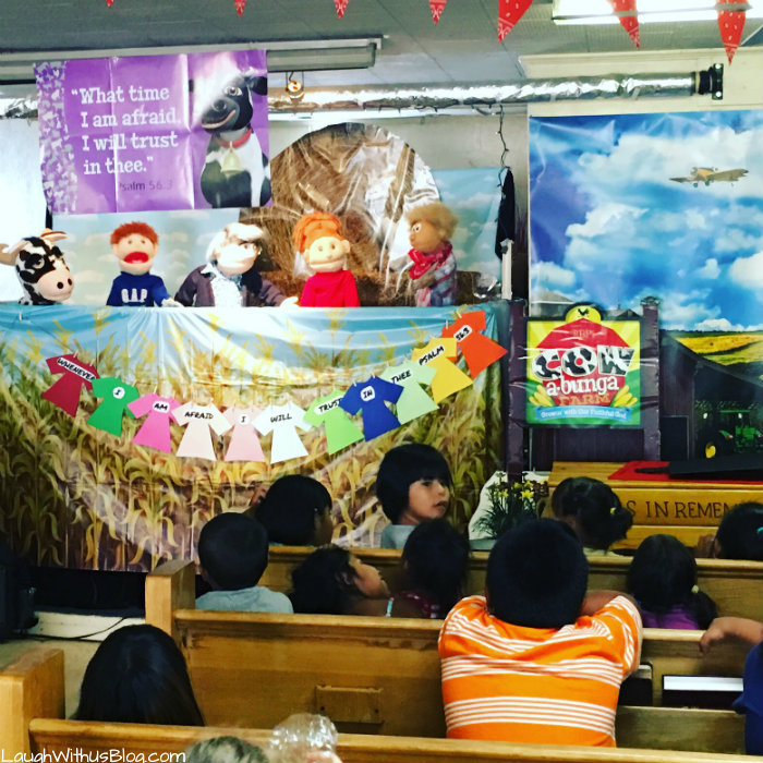Navajo Reservation VBS puppets