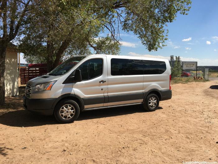 Navjo Reservation VBS Ford Transit Shuttle